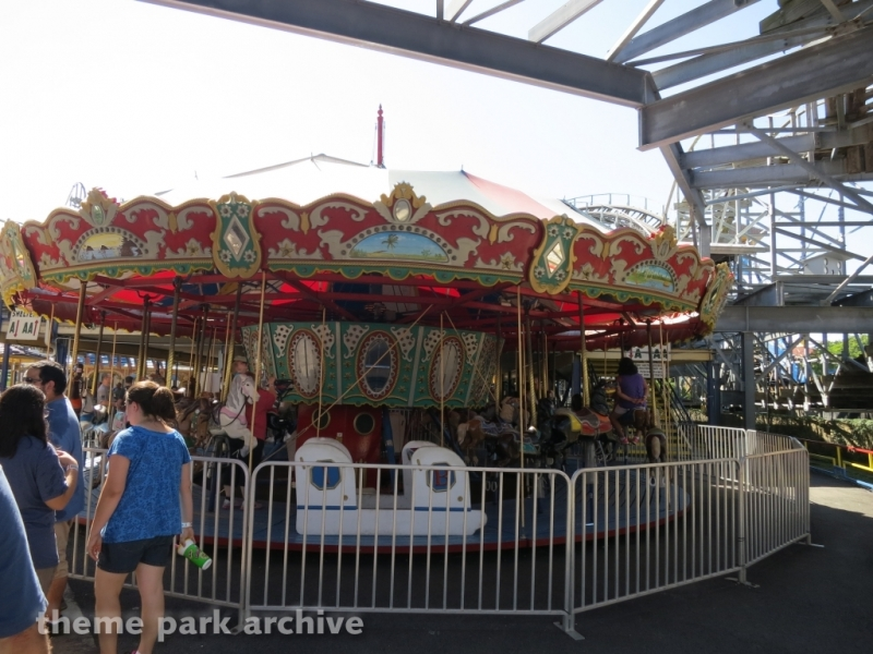 Merry Go Round at Indiana Beach