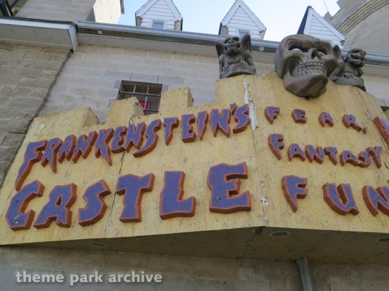 Frankenstein's Castle at Indiana Beach