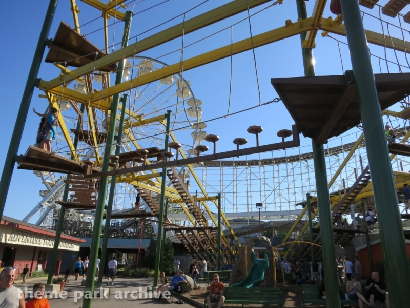 Ropes Course at Indiana Beach