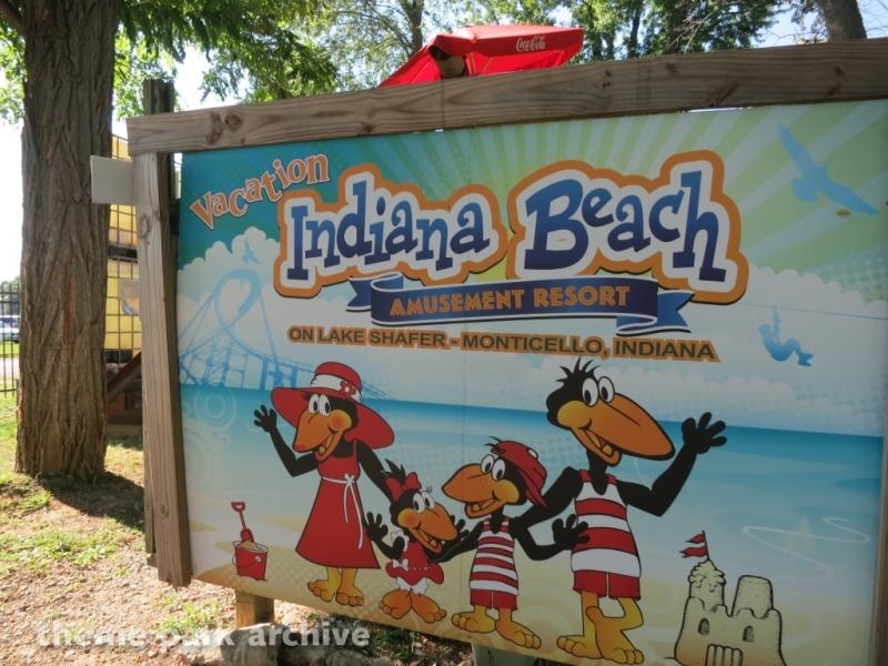Flying Crow Zipline at Indiana Beach