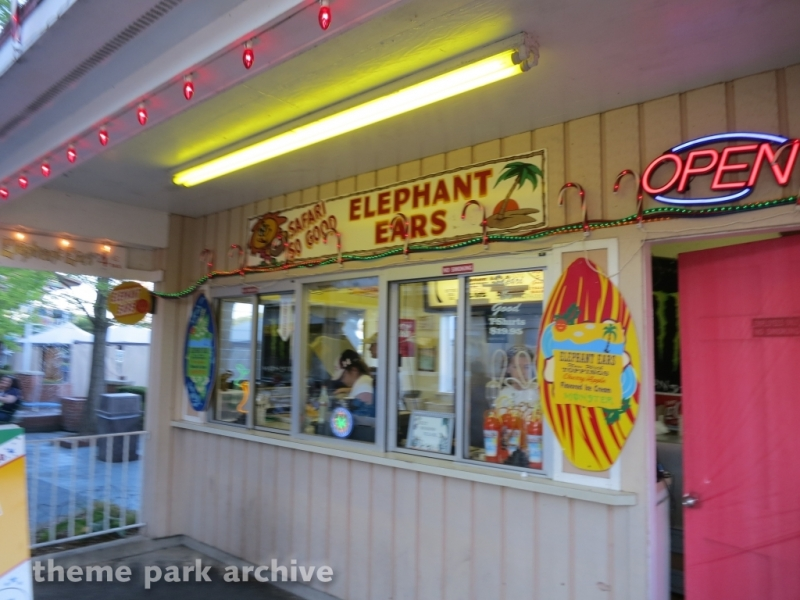 Elephant Ears at Indiana Beach
