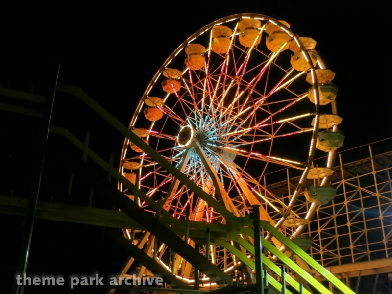 Giant Wheel at Indiana Beach