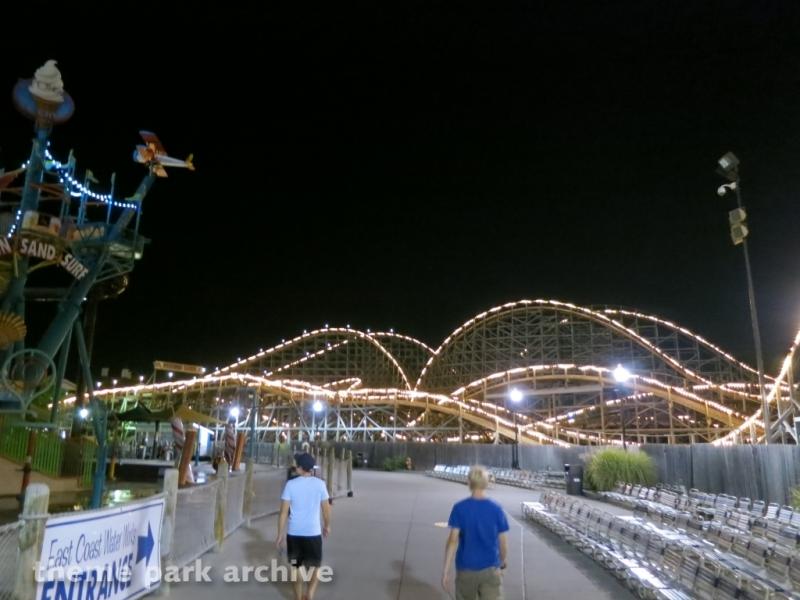 Lightning Racer at Hersheypark