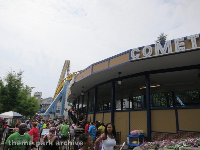 Comet at Hersheypark