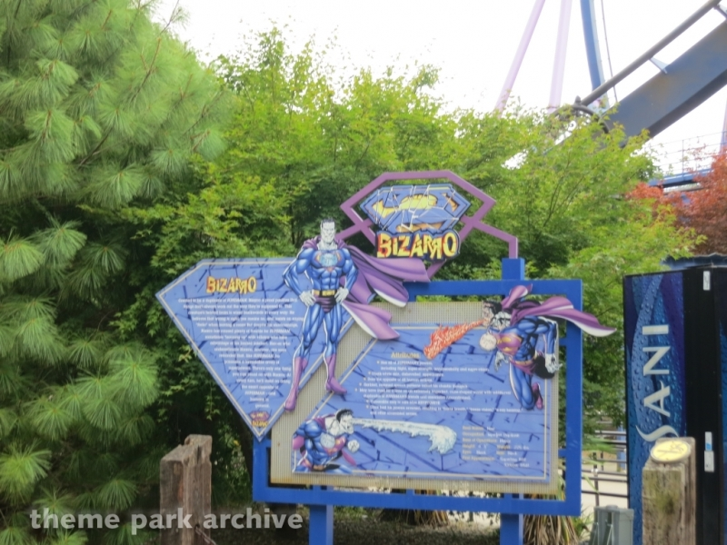 Bizarro at Six Flags Great Adventure