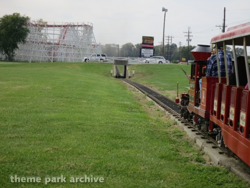 Train at Stricker's Grove
