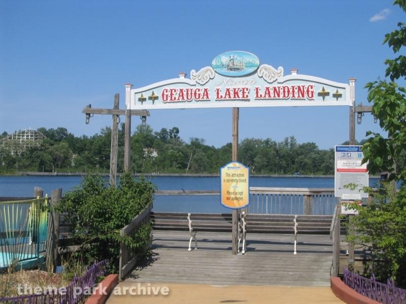 Paddle Boats at Geauga Lake