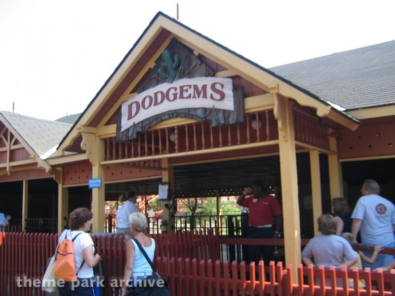 Dodgems at Geauga Lake