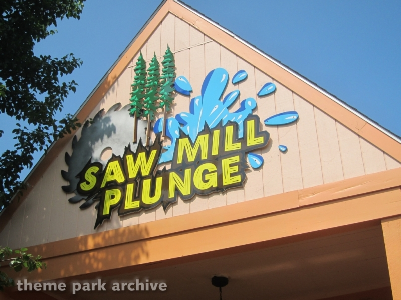 Saw Mill Plunge at Lake Compounce
