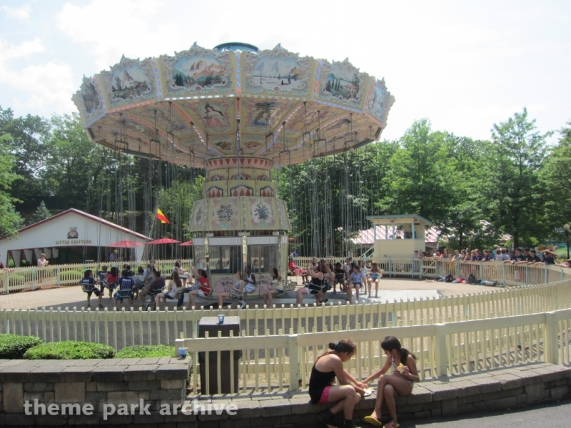 Antique Carousel at Lake Compounce