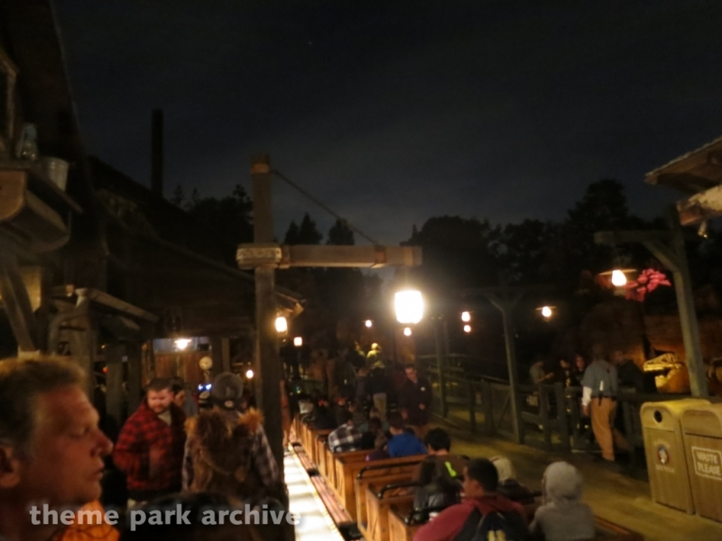 Big Thunder Mountain Railroad at Disneyland