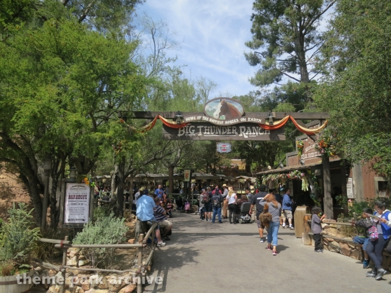 Big Thunder Ranch at Disneyland