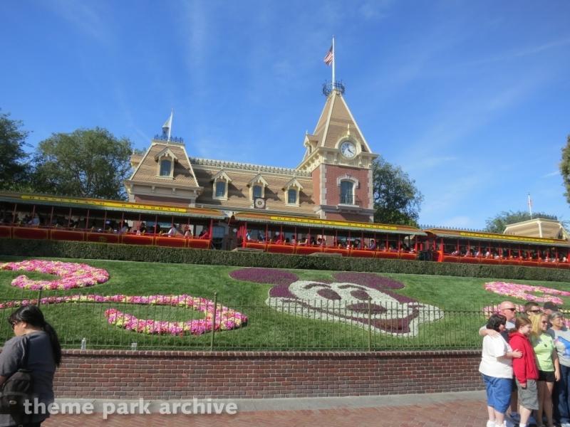 Disneyland Railroad at Disneyland