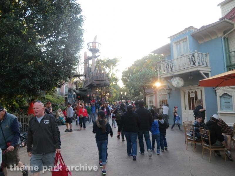 New Orleans Square at Disneyland