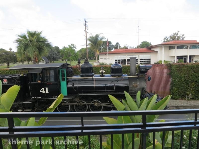 Calico Railroad at Knott's Berry Farm