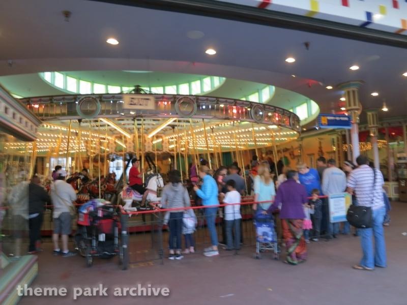 1901 Looff Carousel at Santa Cruz Beach Boardwalk