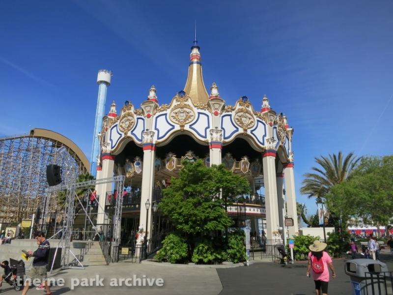 Carousel Columbia at California's Great America