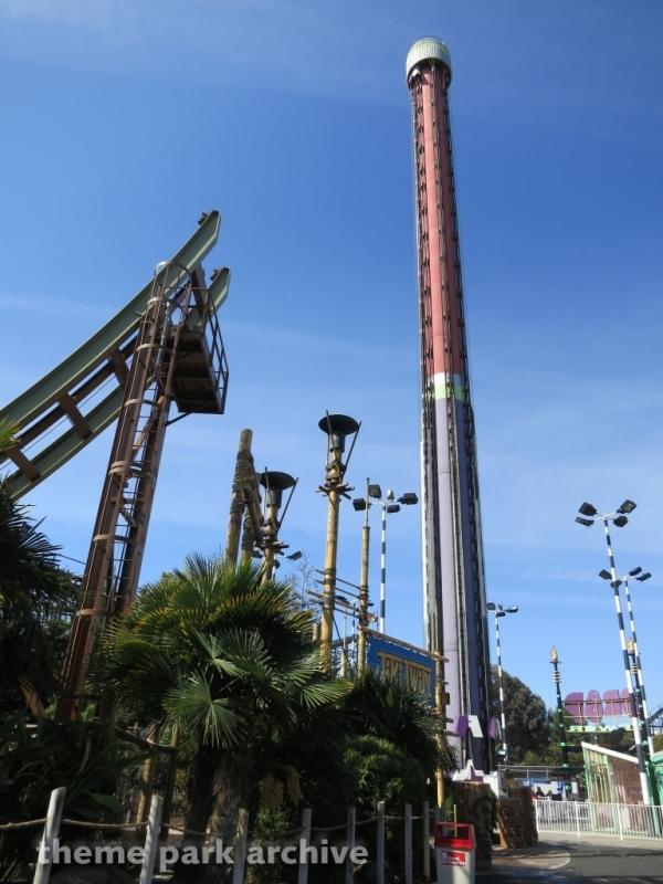 Drop Tower at California's Great America
