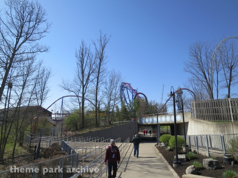 Action Zone at Kings Island