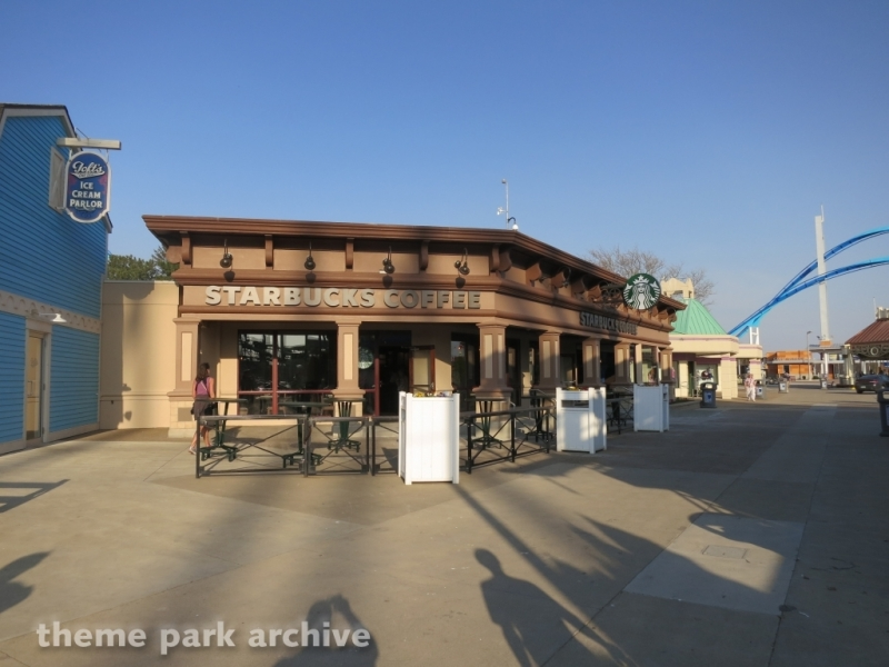 Starbucks at Cedar Point