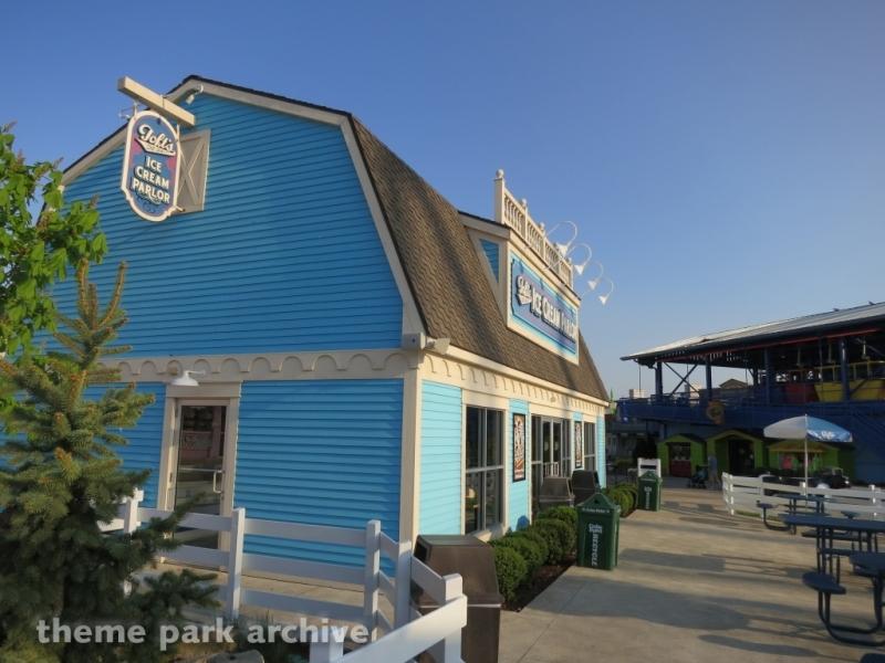 Toft's Ice Cream Parlor at Cedar Point