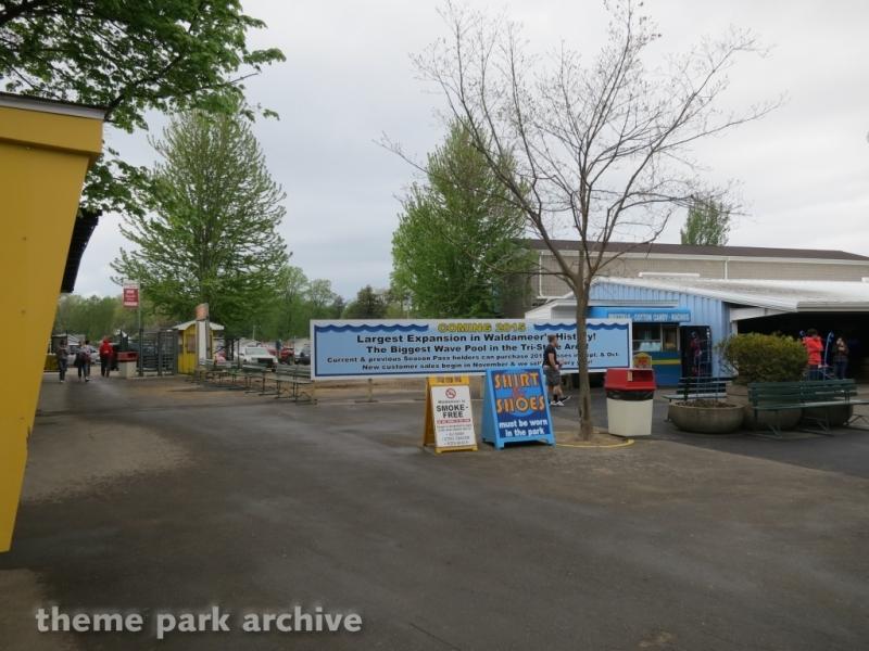 Wave Pool at Waldameer Park