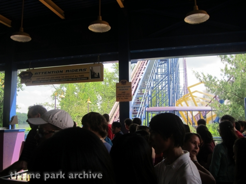 Superman The Ride at Six Flags New England