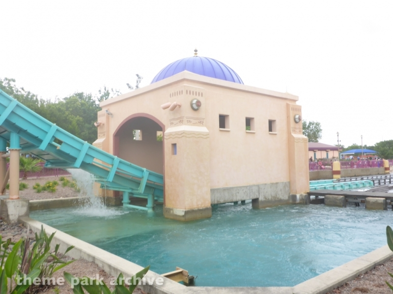 Journey to Atlantis at SeaWorld San Antonio