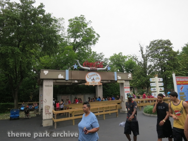 Chaparral Antique Cars at Six Flags Over Texas