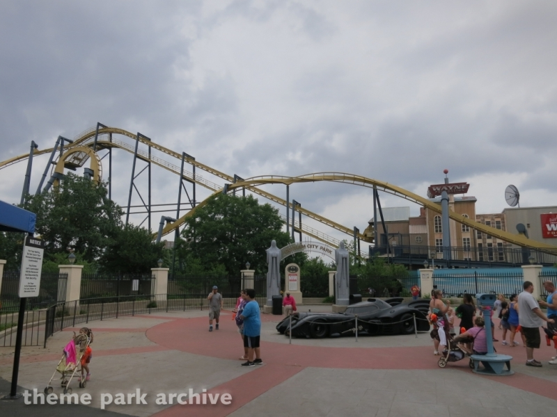 Batman The Ride at Six Flags Over Texas