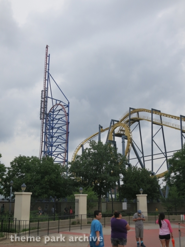 Mr. Freeze at Six Flags Over Texas