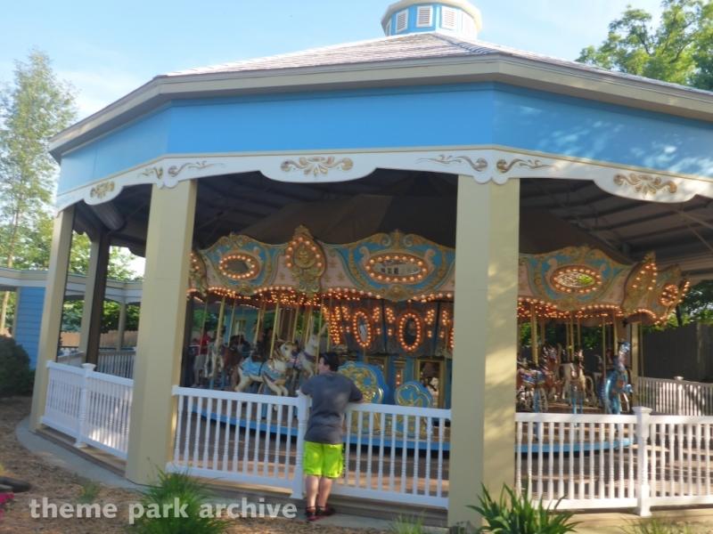 Star Spangled Carousel at Holiday World