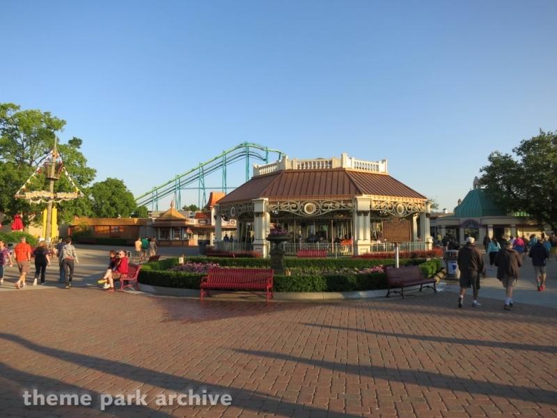 Carousel at Cedar Point