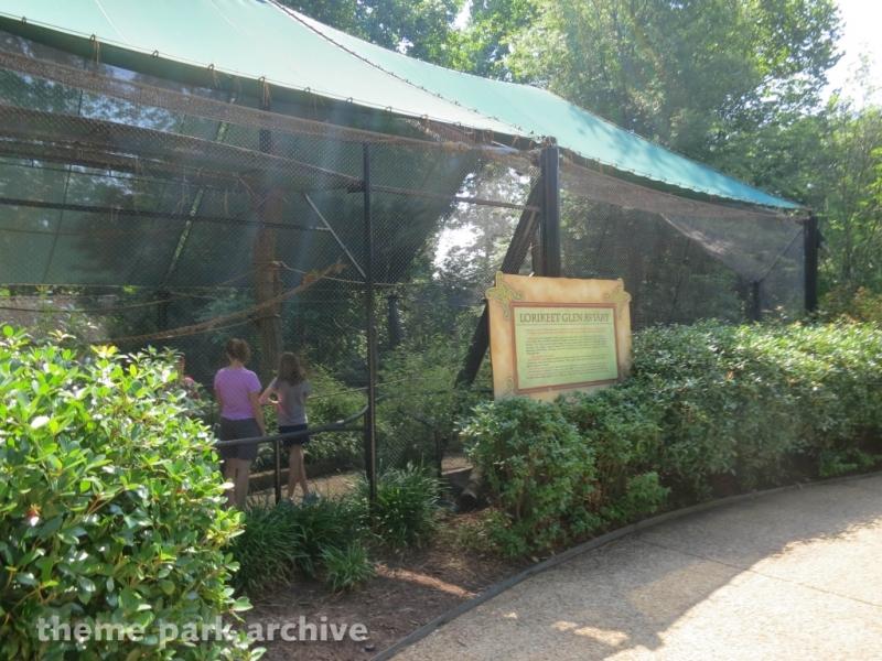 Lorikeet Glen at Busch Gardens Williamsburg