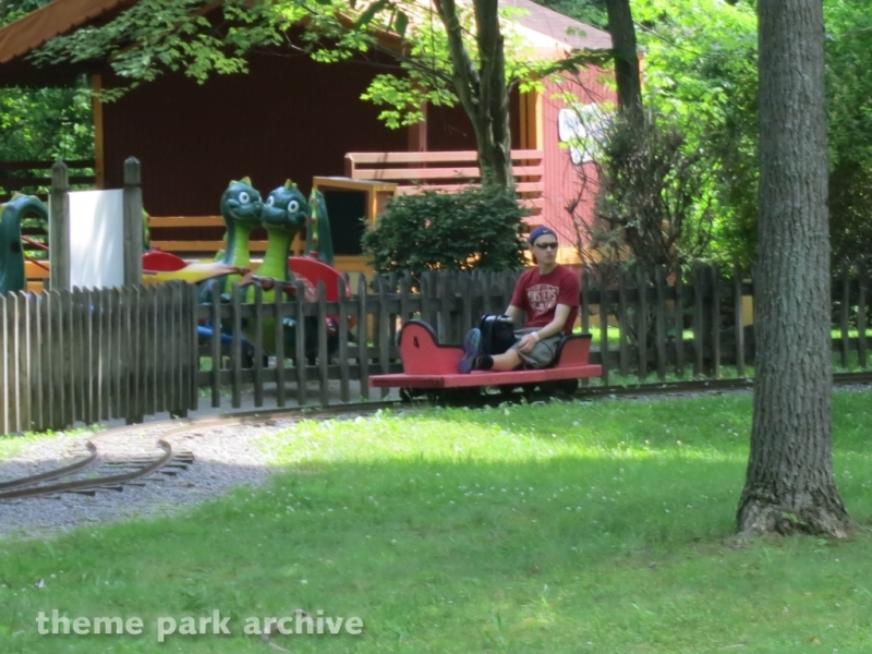 Adult Handcars at Idlewild and SoakZone