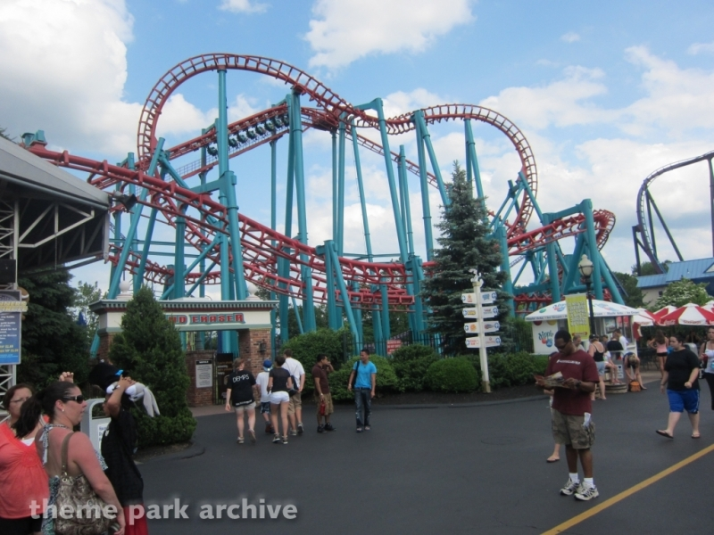 Mind Eraser at Six Flags New England