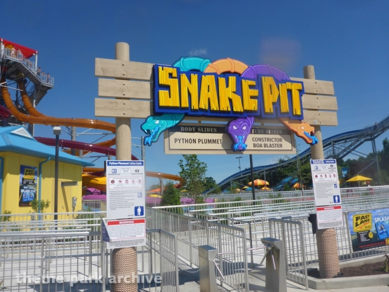 Snake Pit at Dorney Park