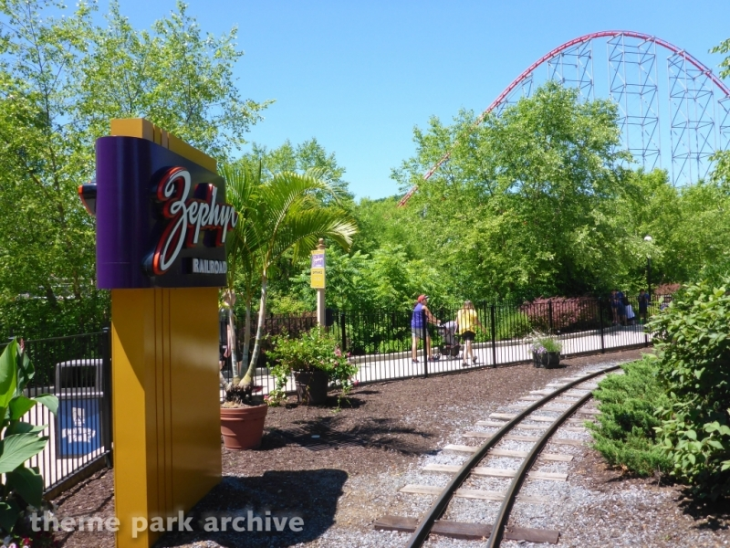 Zephyr Railroad at Dorney Park