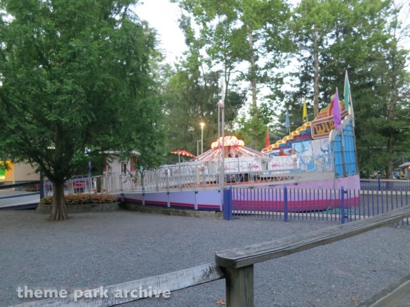 Wipeout at Knoebels Amusement Resort