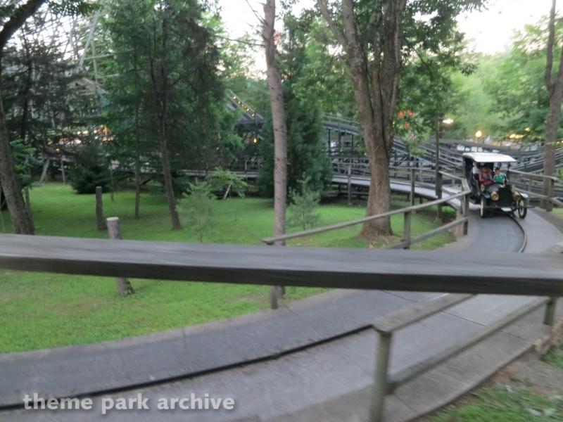Antique Cars at Knoebels Amusement Resort