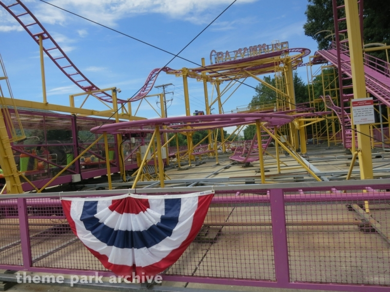 Crazy Mouse at DelGrosso's Amusement Park