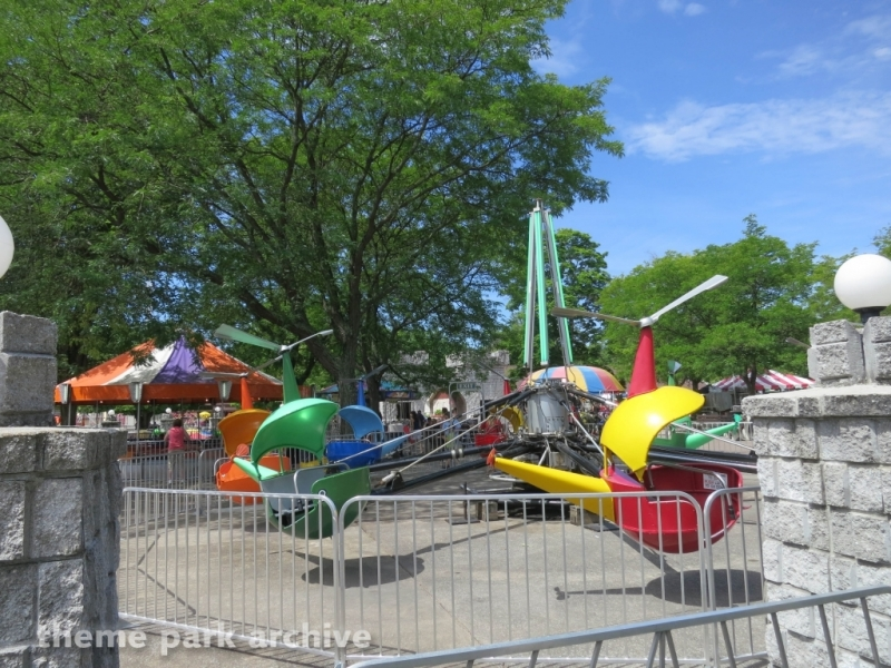Helicopter at DelGrosso's Amusement Park