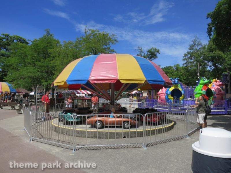 Corvette Race Cars at DelGrosso's Amusement Park