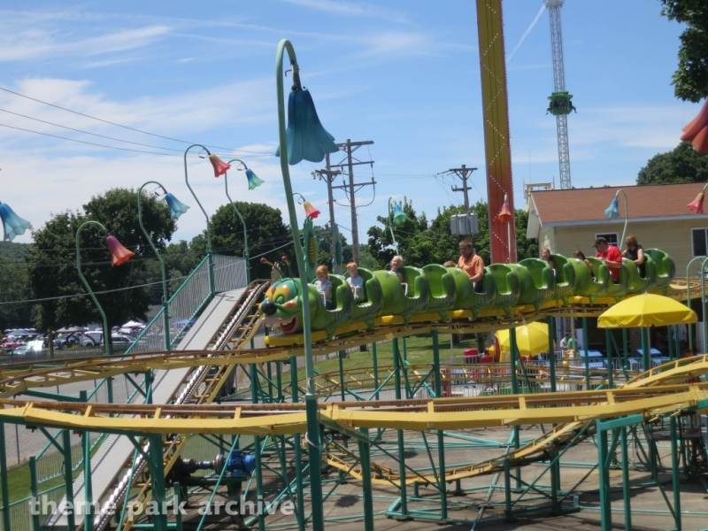 Wacky Worm at DelGrosso's Amusement Park