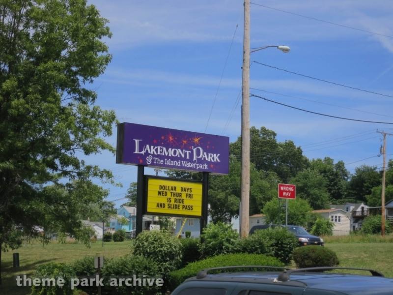 Entrance at Lakemont Park