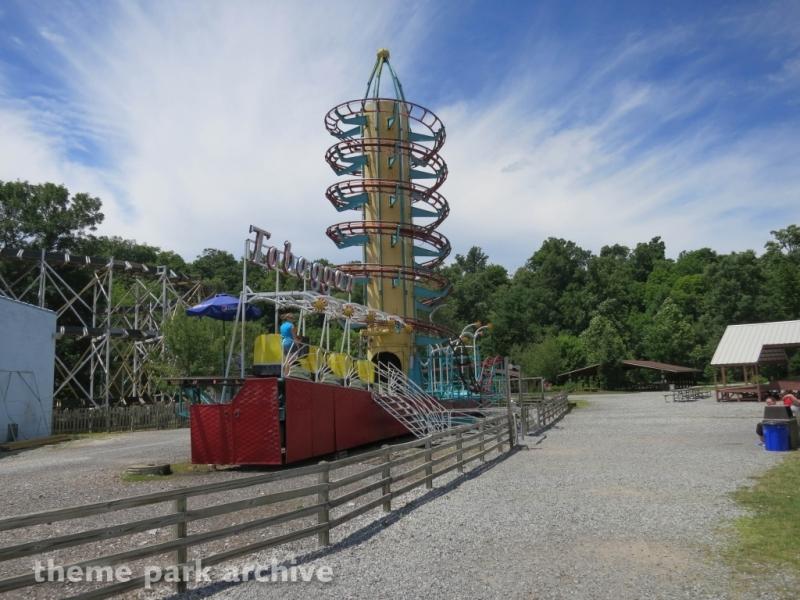 Toboggan at Lakemont Park