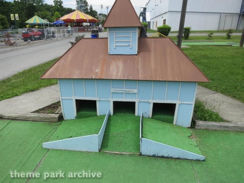 Traintown Miniature Golf at Lakemont Park
