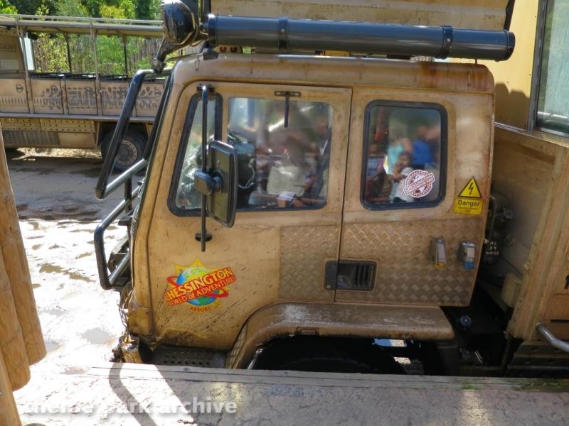 Zufari: Ride into Africa at Chessington World of Adventures Resort