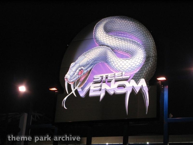 Steel Venom at Geauga Lake