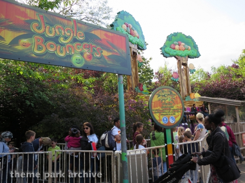 Jungle Bouncers at Chessington World of Adventures Resort
